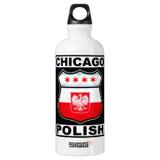 Chicago Polish American Water Bottle