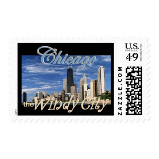 CHICAGO POSTAGE STAMP
