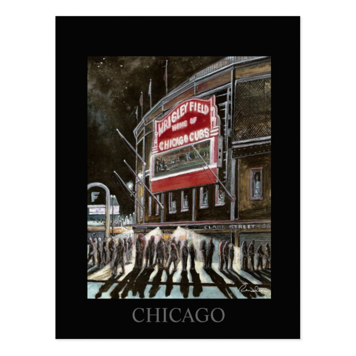 Chicago Postcard Randsom Art