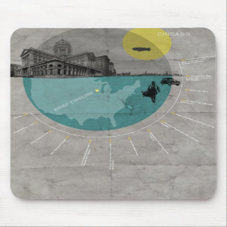 Chicago poster mousepads