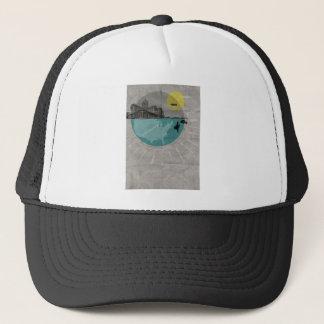 Chicago poster trucker hat