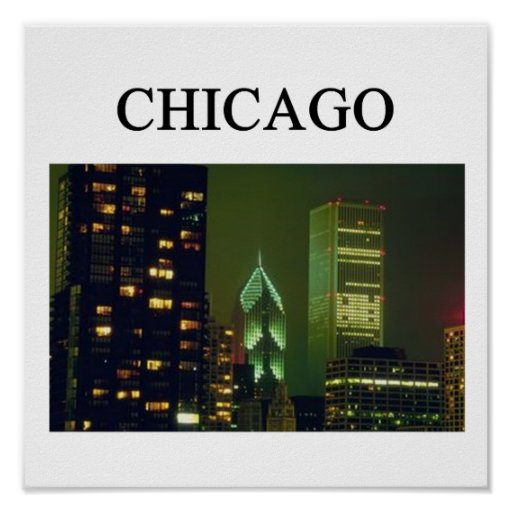 CHICAGO POSTERS