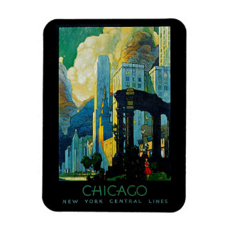 Chicago Rectangle Magnets