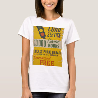 Chicago Public Library Curb Service T-Shirt