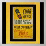 Chicago-Público Biblioteca-WPA de WPA del cartel Impresiones