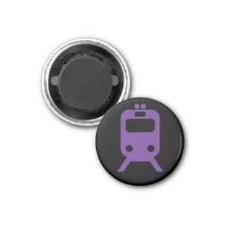 Chicago - Purple Line Magnet