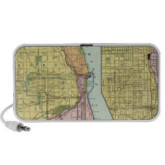 Chicago Railway Terminal Map Speakers