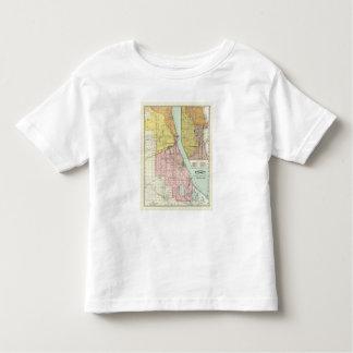 Chicago Railway Terminal Map T-shirts
