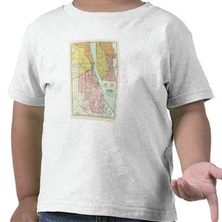 Chicago Railway Terminal Map T-shirt