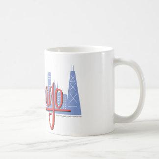 CHICAGO-RED COFFEE MUG