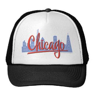 CHICAGO-RED GORROS