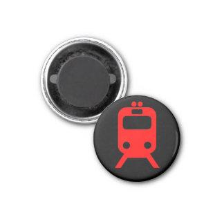Chicago - Red Line 1 Inch Round Magnet