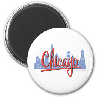 CHICAGO-RED MAGNET