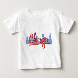 CHICAGO-RED T-SHIRT