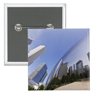 Chicago Reflections Pinback Button