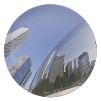 Chicago Reflections Plates