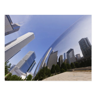 Chicago Reflections Postcard