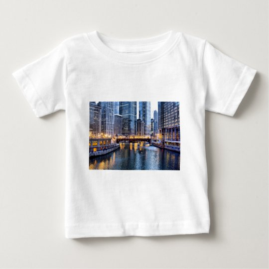Chicago reflects baby T-Shirt