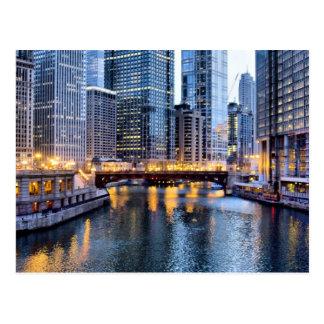 Chicago refleja postales