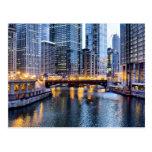 Chicago refleja tarjetas postales