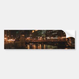 Chicago River Bumper Sticker