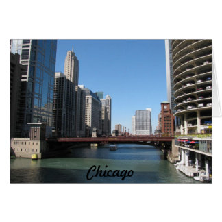 Chicago River Card