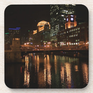Chicago River Drink Coaster