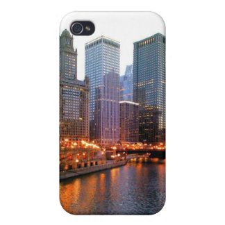 Chicago River Lights iPhone 4/4S Covers