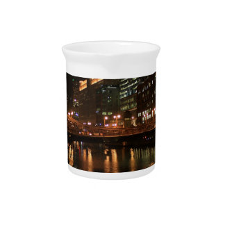 Chicago River Pitcher