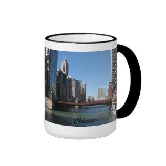 Chicago River Ringer Mug