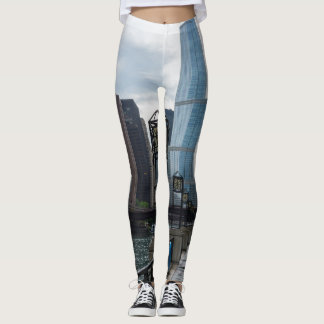 Chicago River Walk Leggings