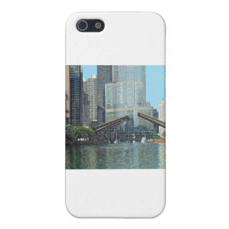 Chicago River Westward View iPhone SE/5/5s Cover