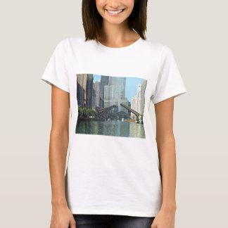 Chicago River Westward View T-Shirt