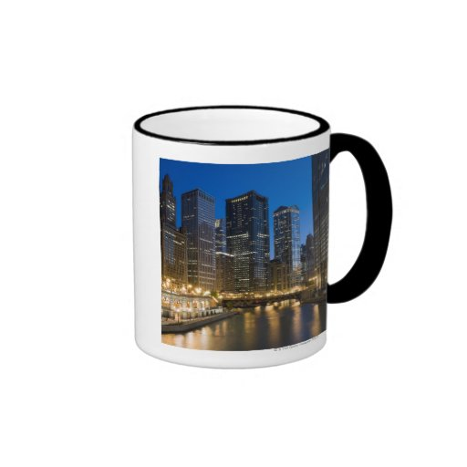 Chicago Riverfront Coffee Mugs