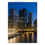 Chicago Riverfront Greeting Card