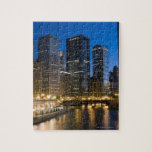 Chicago Riverfront Jigsaw Puzzles