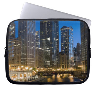 Chicago Riverfront Laptop Sleeve