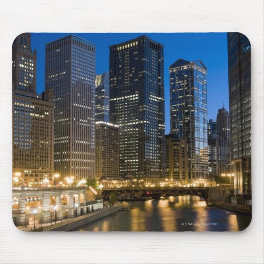 Chicago Riverfront Mouse Pad