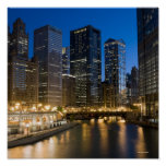 Chicago Riverfront Posters