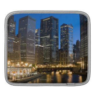 Chicago Riverfront Sleeve For iPads