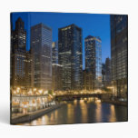 Chicago Riverfront Vinyl Binders