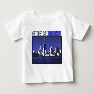 Chicago Rocks! Baby T-Shirt