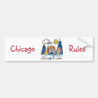 Chicago Rules Bumper Sticker
