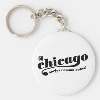Chicago Rules Keychain