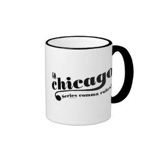 Chicago Rules Ringer Coffee Mug