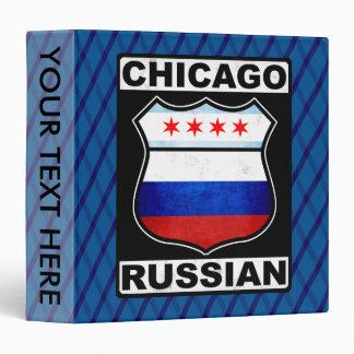 Chicago Russian American Binder
