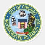 Chicago Seal Classic Round Sticker