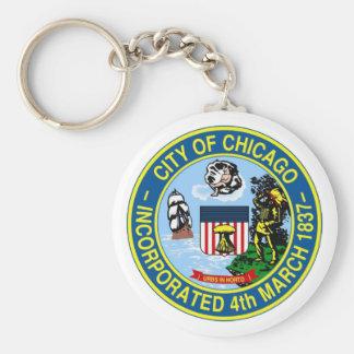 Chicago Seal Keychain