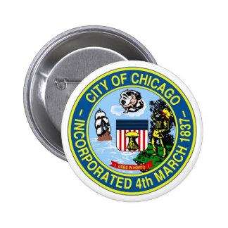 Chicago Seal Pinback Button