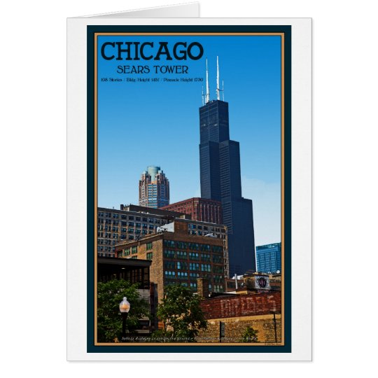 Chicago - Sears Tower Card